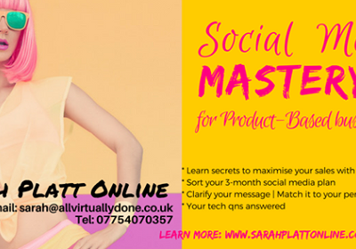 Social media workshops, events and mastery classes